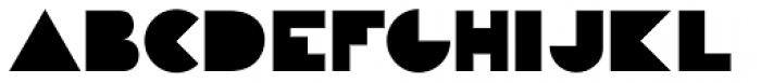 P22 Constructivist Block Font UPPERCASE