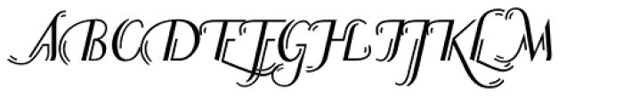 P22 Counter Swash Alts Font UPPERCASE