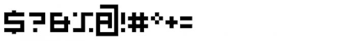 P22 DeStijl Regular Font OTHER CHARS