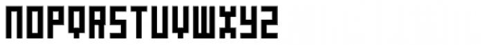 P22 DeStijl Tall Font UPPERCASE