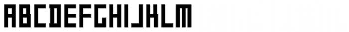 P22 DeStijl Tall Font LOWERCASE
