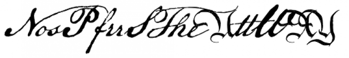 P22 Declaration Sorts Font UPPERCASE