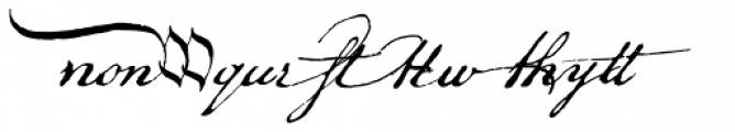 P22 Declaration Sorts Font LOWERCASE