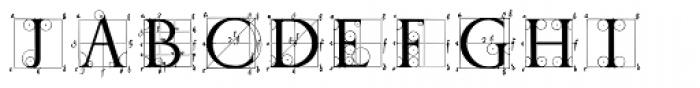 P22 Durer Caps Font OTHER CHARS