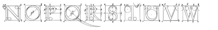 P22 Durer Caps Font UPPERCASE