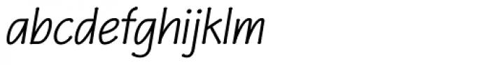P22 Eaglefeather Pro Italic Font LOWERCASE