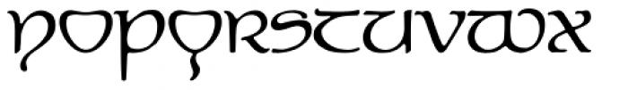 P22 Elven Font UPPERCASE