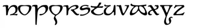 P22 Elven Font LOWERCASE
