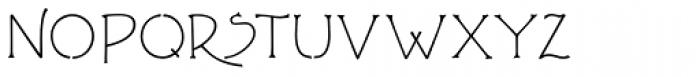 P22 FLLW Terracotta Alternate Font LOWERCASE