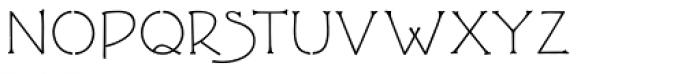 P22 FLLW Terracotta Font UPPERCASE