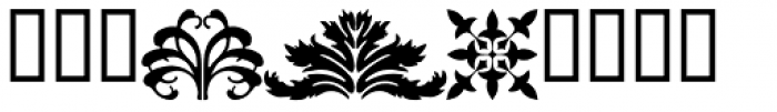 P22 Floriat Font OTHER CHARS
