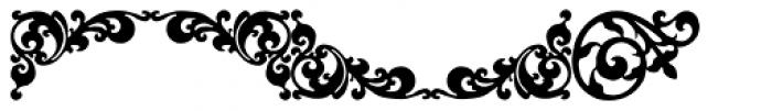 P22 Floriat Font LOWERCASE