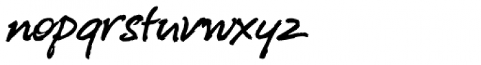 P22 Freely Font LOWERCASE