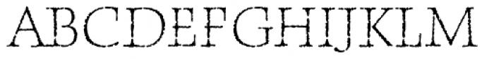 P22 Frenzy Sans Font UPPERCASE