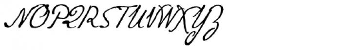 P22 Gauguin Alternate Font UPPERCASE