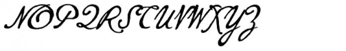 P22 Gauguin Brush Font UPPERCASE