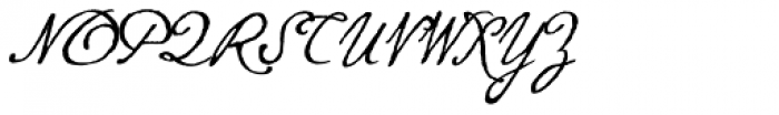 P22 Gauguin Regular Font UPPERCASE