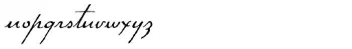 P22 Gauguin Regular Font LOWERCASE