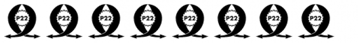P22 Goudy Ampersands Font OTHER CHARS