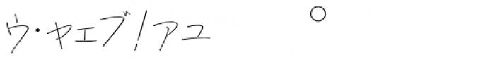P22 Hiromina 03 Katakana Regular Font OTHER CHARS
