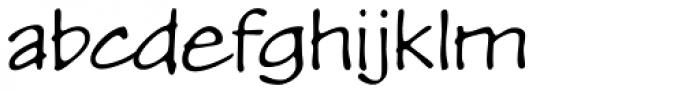 P22 Kaz Thin Pro Font LOWERCASE