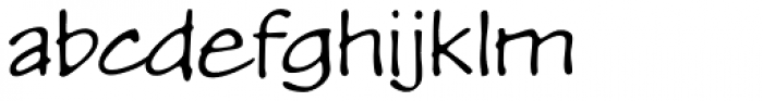 P22 Kaz Thin Font LOWERCASE