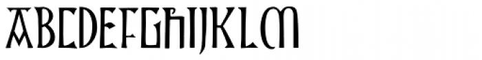 P22 Kells Square Font UPPERCASE