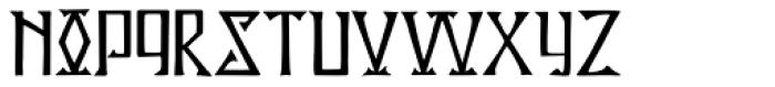 P22 Kells Square Font LOWERCASE