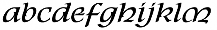 P22 Kelly Font LOWERCASE