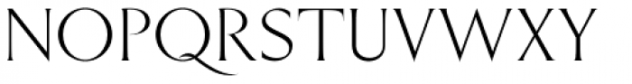 P22 Kirkwall Trim Font UPPERCASE