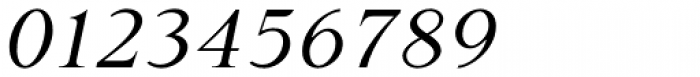 P22 Late November Italic Font OTHER CHARS