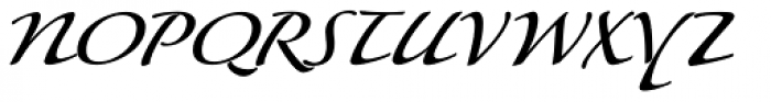 P22 Lucilee Font UPPERCASE