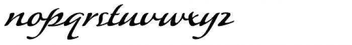 P22 Lucilee Font LOWERCASE