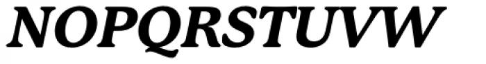 P22 Mackinac Pro ExtraBold Italic Font UPPERCASE