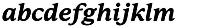 P22 Mackinac Pro ExtraBold Italic Font LOWERCASE
