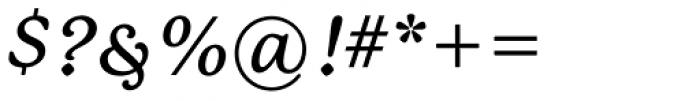 P22 Mackinac Pro Medium Italic Font OTHER CHARS