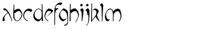 P22 Mucha Font LOWERCASE