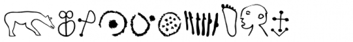 P22 Petroglyphs European Font OTHER CHARS