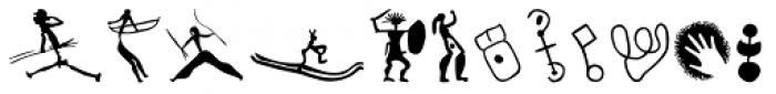 P22 Petroglyphs European Font UPPERCASE