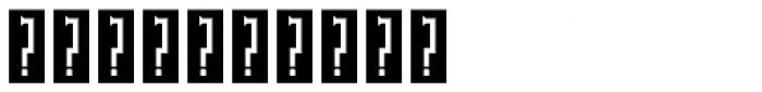 P22 Phantasmagoria Fill Font OTHER CHARS