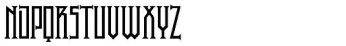 P22 Phantasmagoria Headless Font LOWERCASE