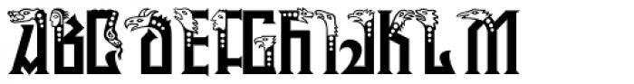 P22 Phantasmagoria Open Font UPPERCASE