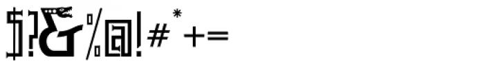 P22 Phantasmagoria Pro Font OTHER CHARS