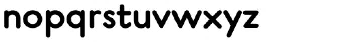 P22 Platten Neu DemiBold Font LOWERCASE