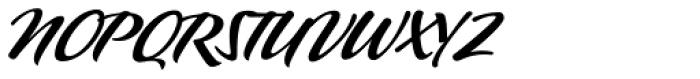 P22 Pooper Black Pro Font UPPERCASE