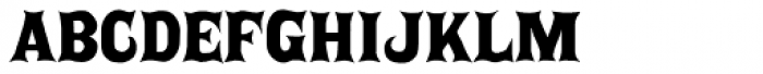 P22 Posada Regular Font LOWERCASE