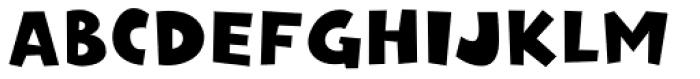 P22 Rakugaki Latin Font UPPERCASE
