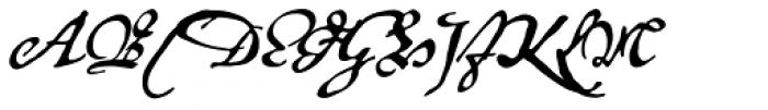 P22 Royalist Alternate Font UPPERCASE