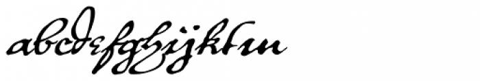 P22 Royalist Alternate Font LOWERCASE