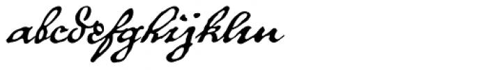 P22 Royalist Pro Font LOWERCASE